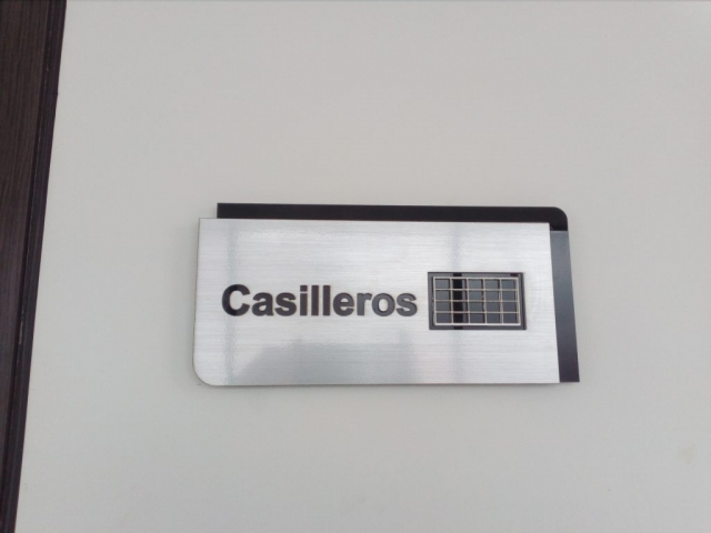 rotulacion informativa guatemala - casilleros