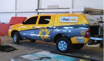 rotulacion vehiculo guatemala - bantrab