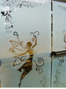 sandblast decorativo en puerta guatemala