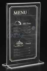 acrilico menu guatemala