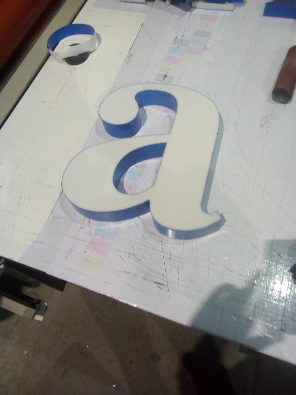 boceto letra tipo block guatemala