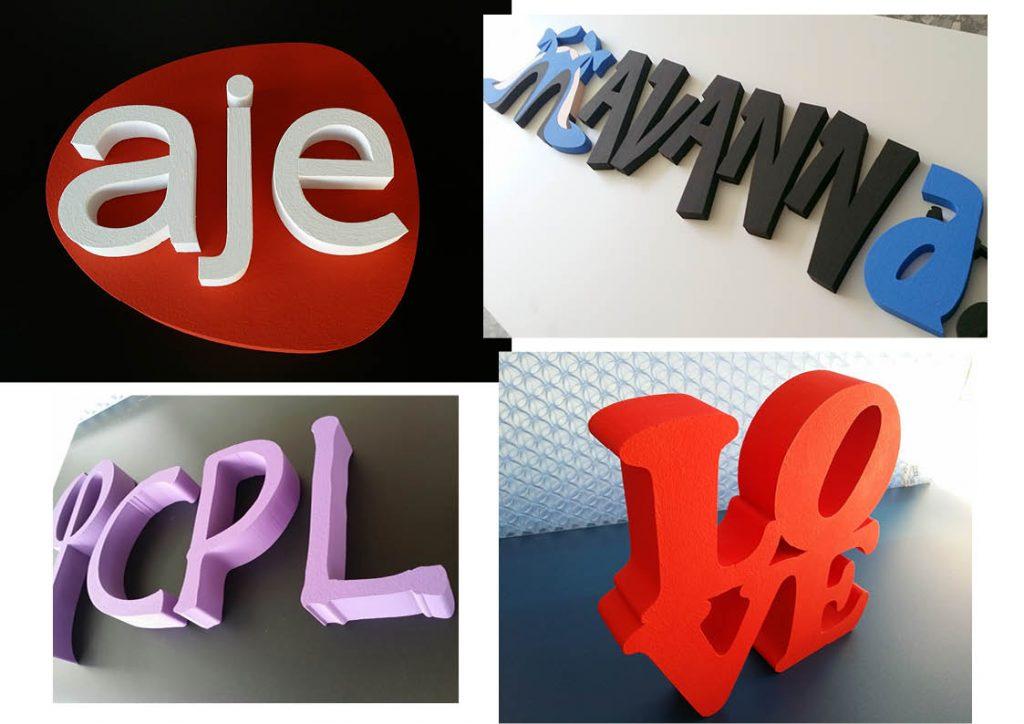 set de letras tipo block - rotulos tipo block guatemala