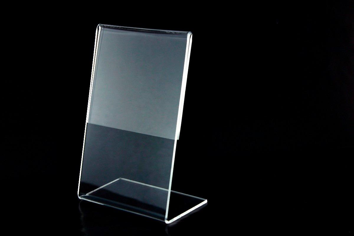 portaretrato acrilico - portaprecio acrilico - portahoja acrilico