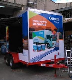 rotulacion vehiculo guatemala - comex