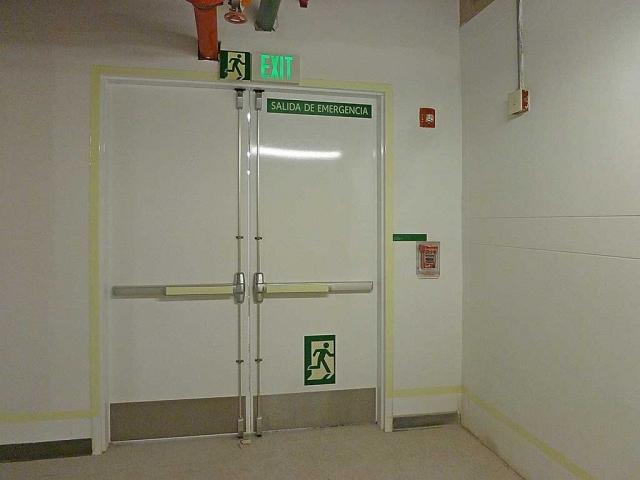 señalizacion guatemala - salida de emergencia
