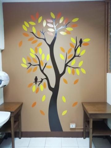 vinilo decorativo en habitacion - guatemala