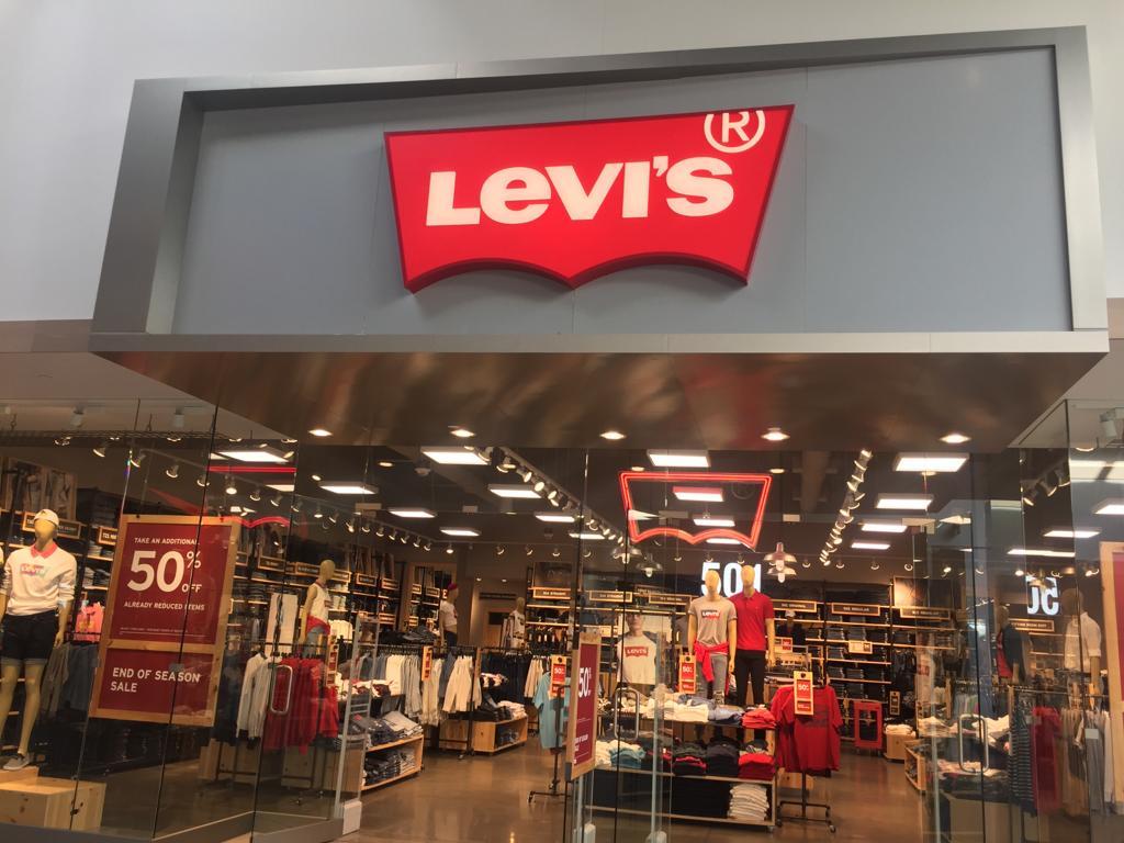 letras tipo block sin Iluminacion - centro comercial