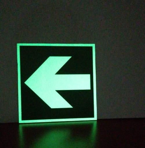 señalizacion industrial guatemala - material fotoluminescente