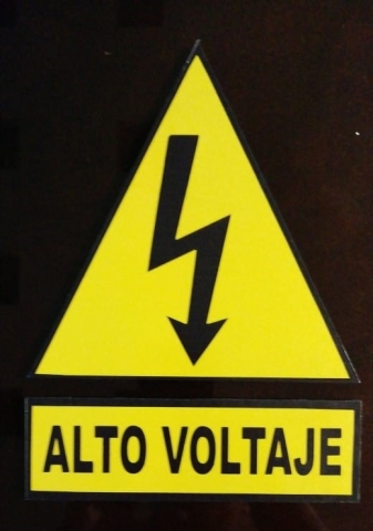 señalizacion industrial guatemala - alto voltaje