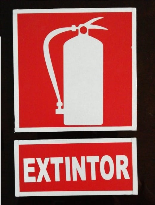 señalizacion industrial guatemala - extintor