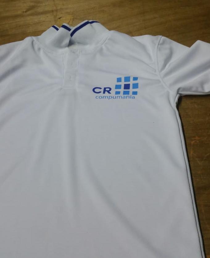 camisa polo con logo poliflex guatemala
